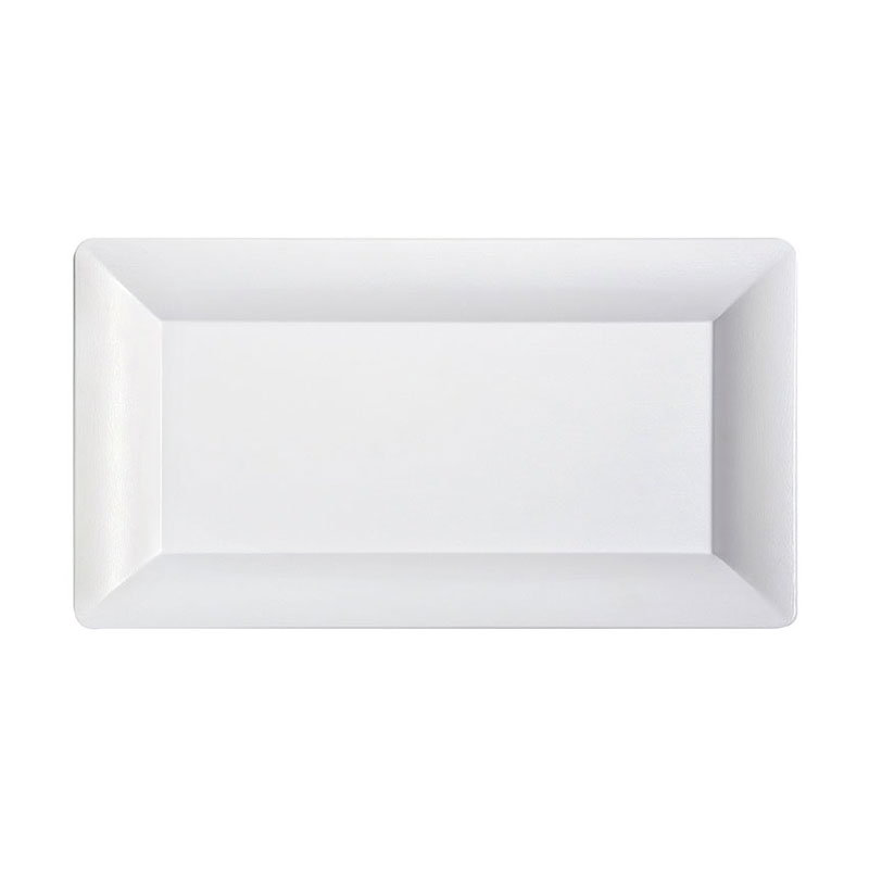 "Get ML-111-W 21-1/4""x 12-3/4""Tray, Melamine, White"