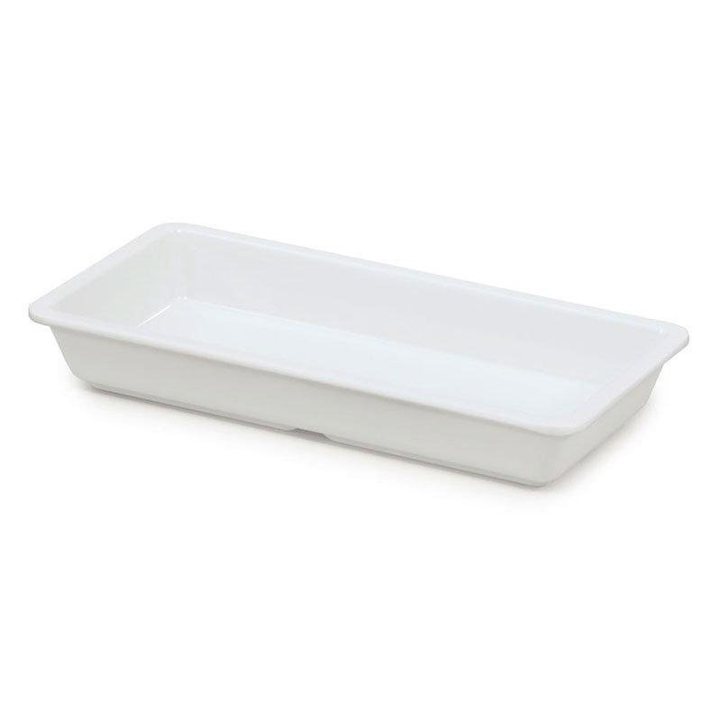 "GET ML-121-W 16-oz Plate, 9-1/4""x 4-5/8, Square, Melamine, White"