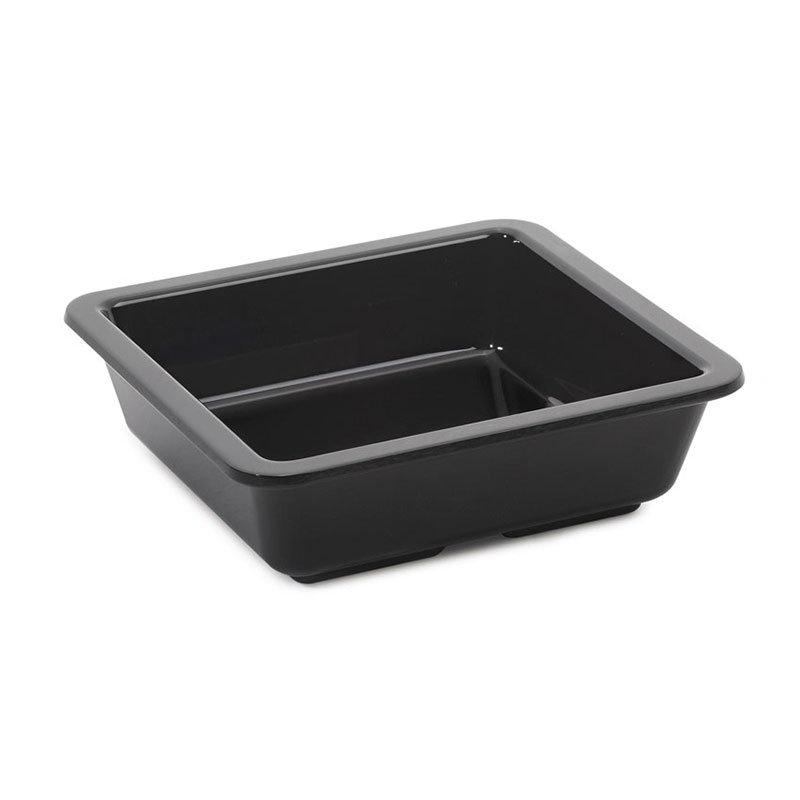 Get ML-122-BK 6-oz Side Dish, Square, Melamine, Black