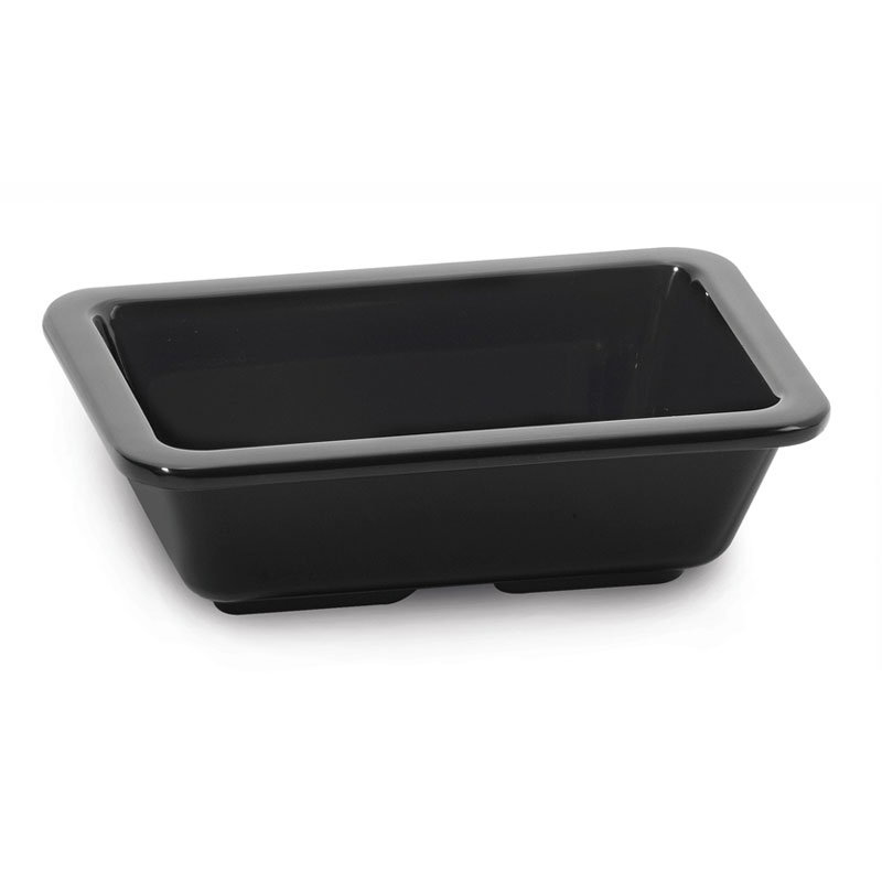 GET ML-123-BK 4-oz Sauce Dish, Melamine, Black