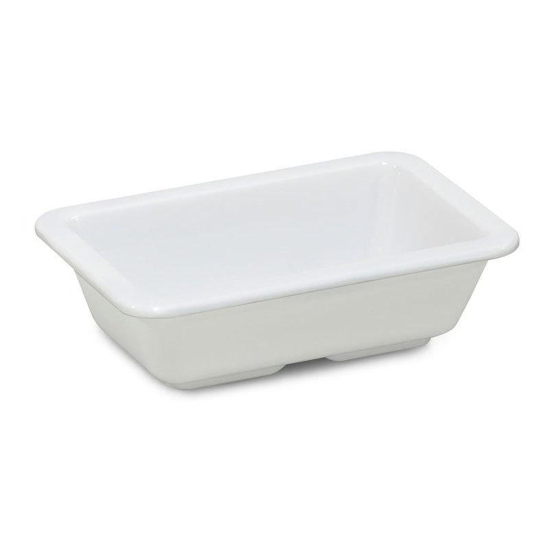GET ML-123-W 4-oz Sauce Dish, Melamine, White