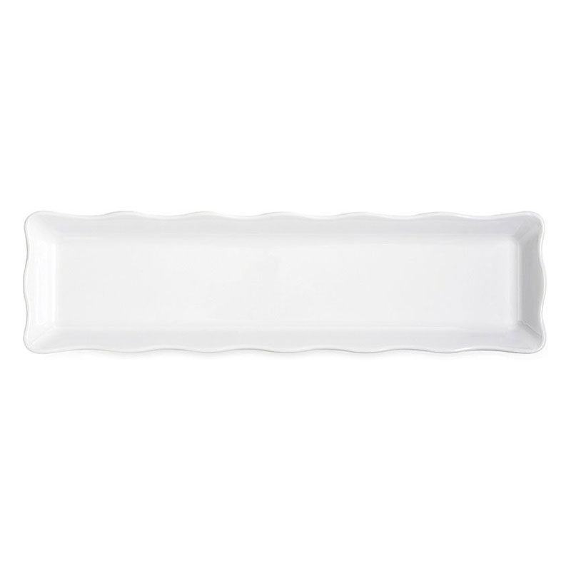 "GET ML-129-W 21""x 5-1/4""x 1/2""Display Tray, Melamine, White"
