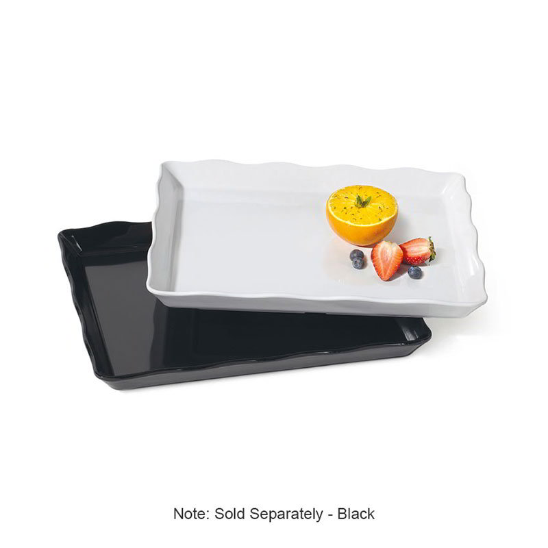 "GET ML-155-BK 14""x 11-1/2""x 1-1/4""Display Tray, Melamine, Black"