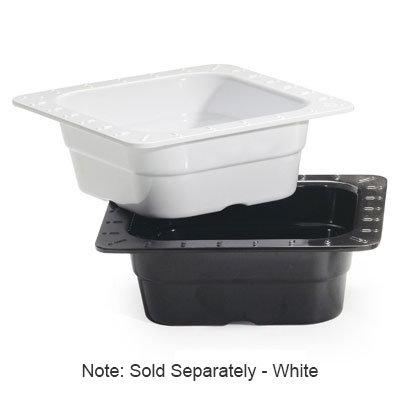 "GET ML-157-W 1/6-Size Melamine Insert Pan, 2.5"" Deep, White"