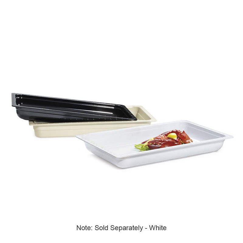 "GET ML-19-W Food Pan, Full Size, 2-1/2""Deep, Melamine, White"