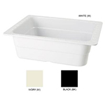 "GET ML-21-W Food Pan, 13 x 10-1/4, 4"" Deep, White"
