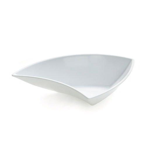 "GET ML-215-W San Michele Plastic Bowl, 10-oz, 5-1/2""Diameter, White"