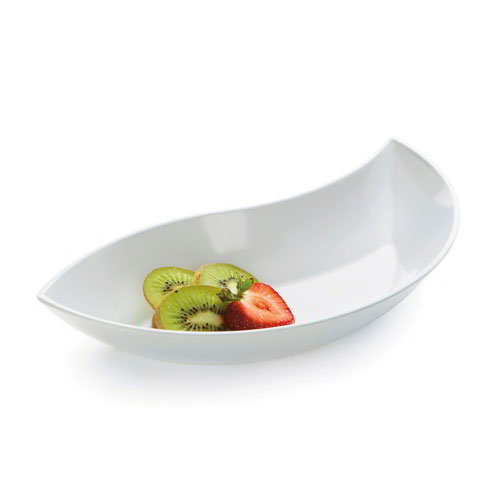 GET Enterprises ML-216-W San Michele Bowl 20 oz 11 in Diameter White Restaurant Supply