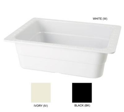 "GET ML-21-BK Food Pan, 13 x 10-1/4, 4"" Deep, Black"