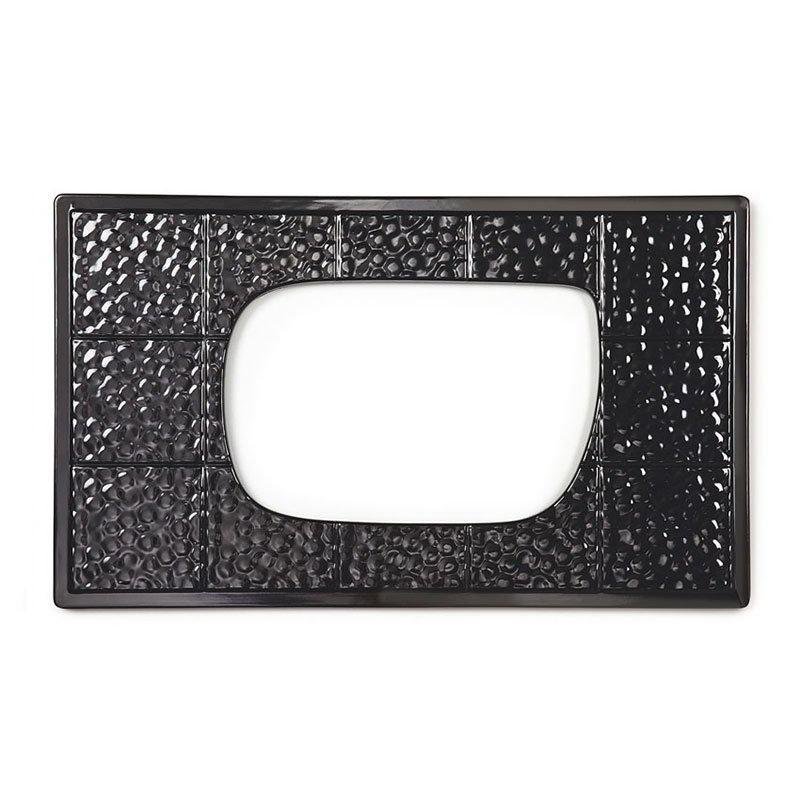 GET ML-221-BK Tiles-Cut Out, For ML-219 & ML-220, Melamine, Black