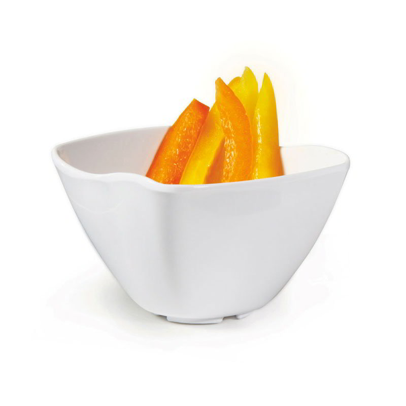 "GET ML-233-W San Michele Bowl, 3 x 2""Deep, Melamine, White"