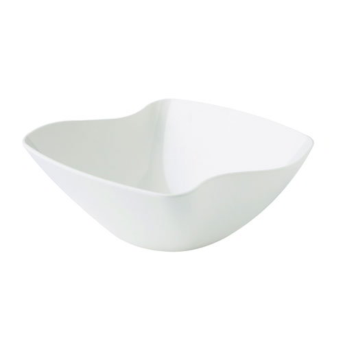 "GET ML-234-W San Michele Bowl, 11 x 4-5/8""Deep, Square, Melamine, White"