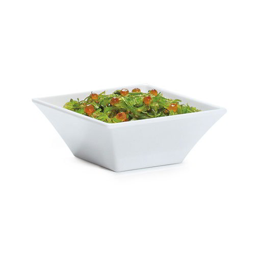 GET ML-238-BK 14-oz Square Siciliano Bowl, Melamine, Black