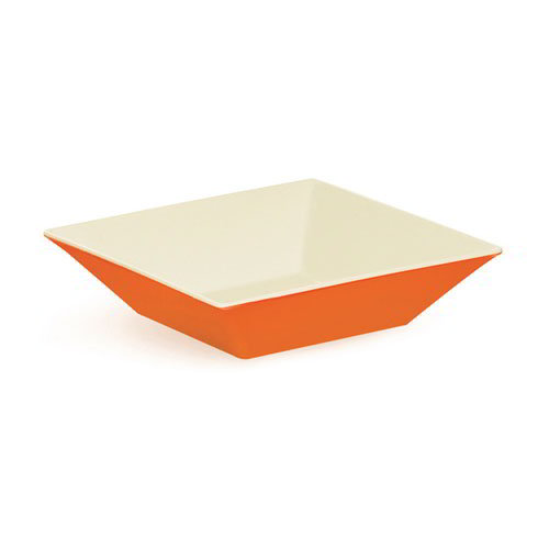 GET ML-247-ST 2.5-qt Square Melamine Bowl, Sunset