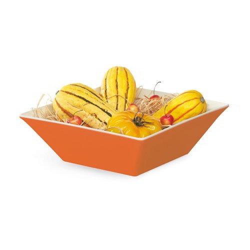 GET ML-248-ST 5.7-qt Square Melamine Bowl, Sunset