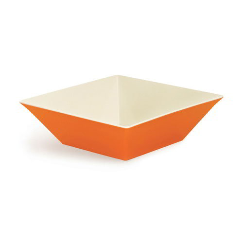 GET ML-249-ST 12.8-qt Square Melamine Bowl, Sunset
