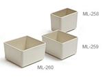 "GET ML-260-IV Build-A-Bar Crock, 6-2/5 x 6-4/5 x 3-9/10"", Ivory Melamine"