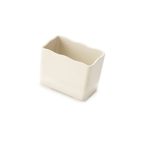 "GET ML-258-IV Build-A-Bar Crock, 5-1/10 x 3-1/5 x 3-9/10"", Ivory Melamine"