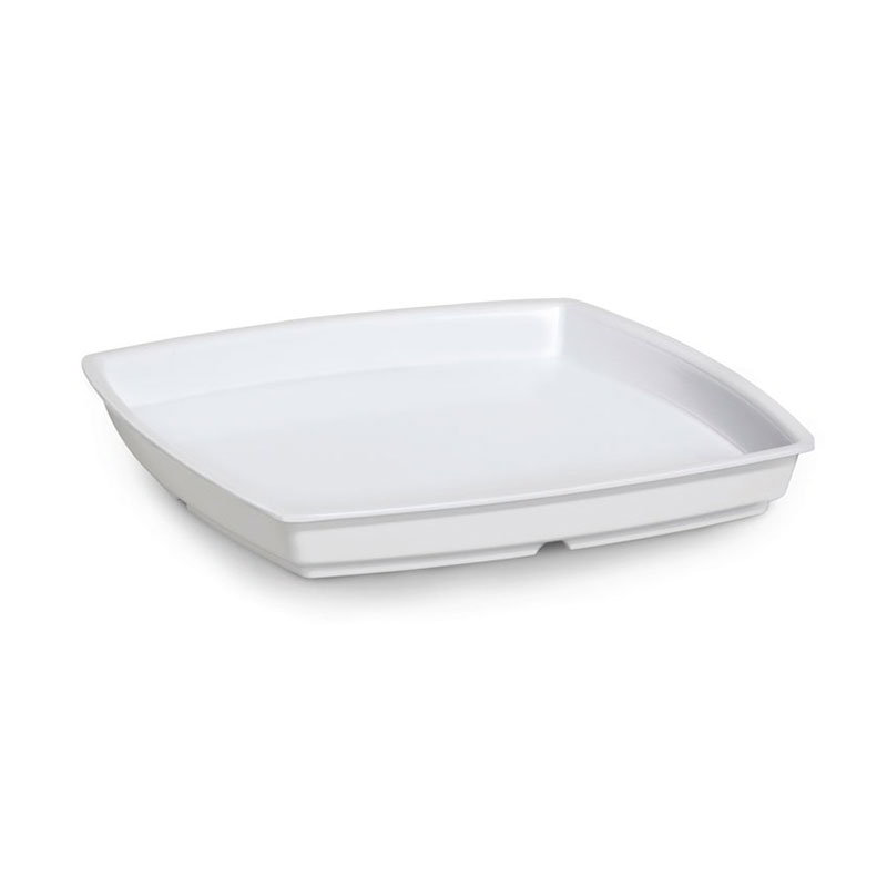 "Get ML-70-W 2 qt Bowl, 11""x 11"" Melamine, White"