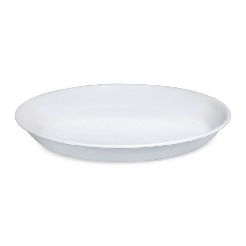 "GET ML-76-W 2 qt Bowl, 13-1/2"" Melamine, White"
