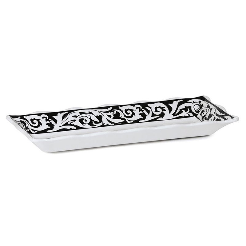 "GET ML-87-SO 17-1/4""x 6-5/8""Rectangular Platter, Melamine, Soho"
