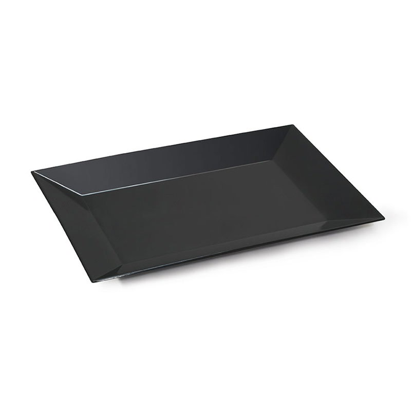 G.E.T ML-99-BK Bake & Brew Platter Rectangle 24 x 18 Melamine Restaurant Supply