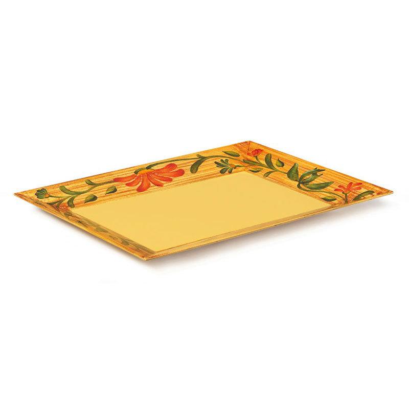 """GET ML-99-VN 14""""x 9-5/8""""x 2""""Rectangular Platter, Melamine, Venetian"""