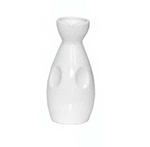 GET NC-4001-W 6 oz Sake Bottle, White, Melamine, Japanese Traditional NC-4001-W