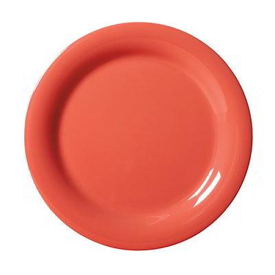 "GET NP-10-RO 10-1/2""Plate, Melamine, Rio Orange"