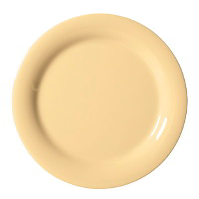 """GET NP-10-SQ 10.5"""" Melamine Plate w/ Narrow Rim, Squash"""