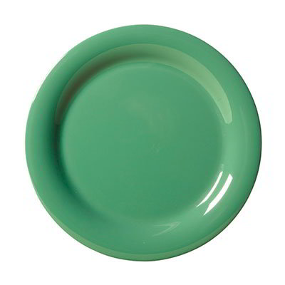 "GET NP-6-FG 6-1/2""Plate, Melamine, Rainforest Green"