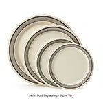 "GET NP-7-CA 7.25"" Diamond Cambridge Plate w/ Narrow Rim, Melamine"