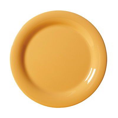 "GET NP-7-TY 7-1/4""Plate, Melamine, Tropical Yellow"