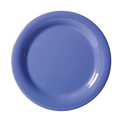 "GET NP-9-PB 9""Plate, Melamine, Peacock Blue"