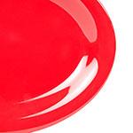 "GET OP-120-CR Oval Melamine Platter, 12 x 9"", Cranberry"