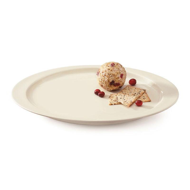 "GET OP-145-DI 14-5/8""Oval Platter, Melamine, Ivory"