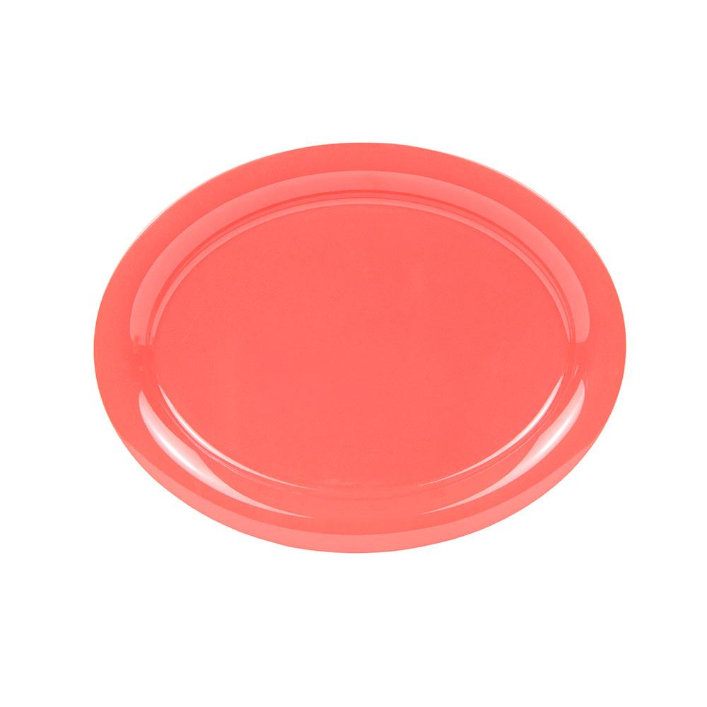 "GET OP-145-RO 14-5/8""Oval Platter, Melamine, Rio Orange"
