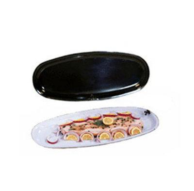 "GET OP-2280-BK 22""Salmon Platter, Melamine, Black"