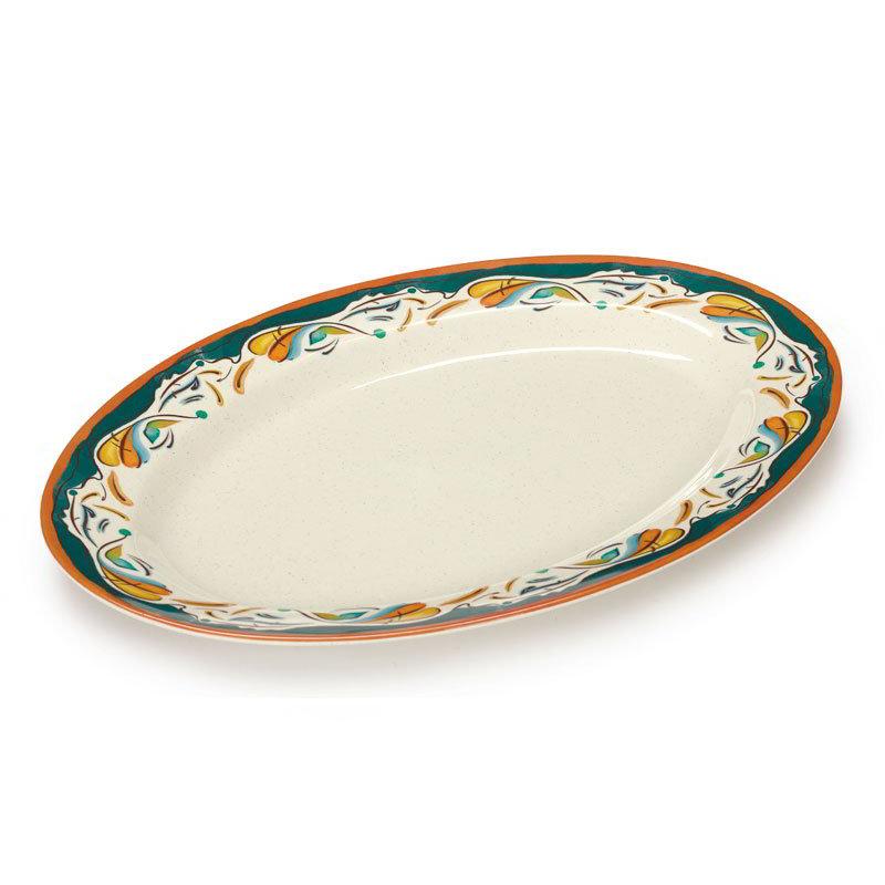 """GET OP-621-BF Bella Fresco Oval Platter - 21"""" x 15"""", Melamine"""
