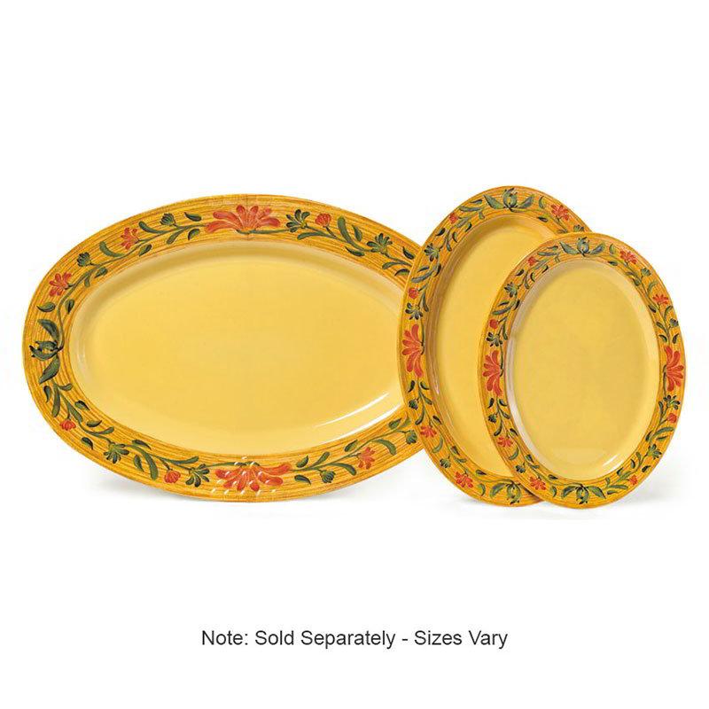 "GET OP-630-VN Platter, 30"" Oval, Melamine, Venetian"