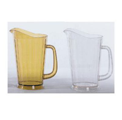 G.E.T P-1064-CL 60 oz Beer Pitcher SAN Plastic Clear Restaurant Supply