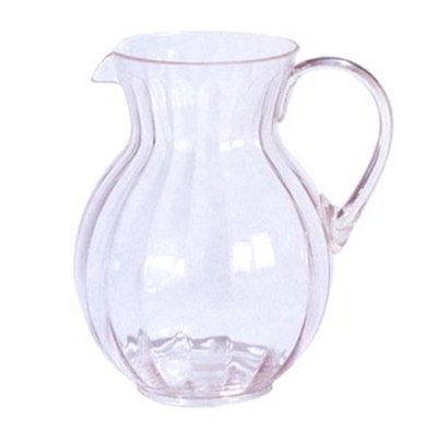 GET P-4090-CL 90 oz Pitcher, Clear, Polycarbonate, Tahiti