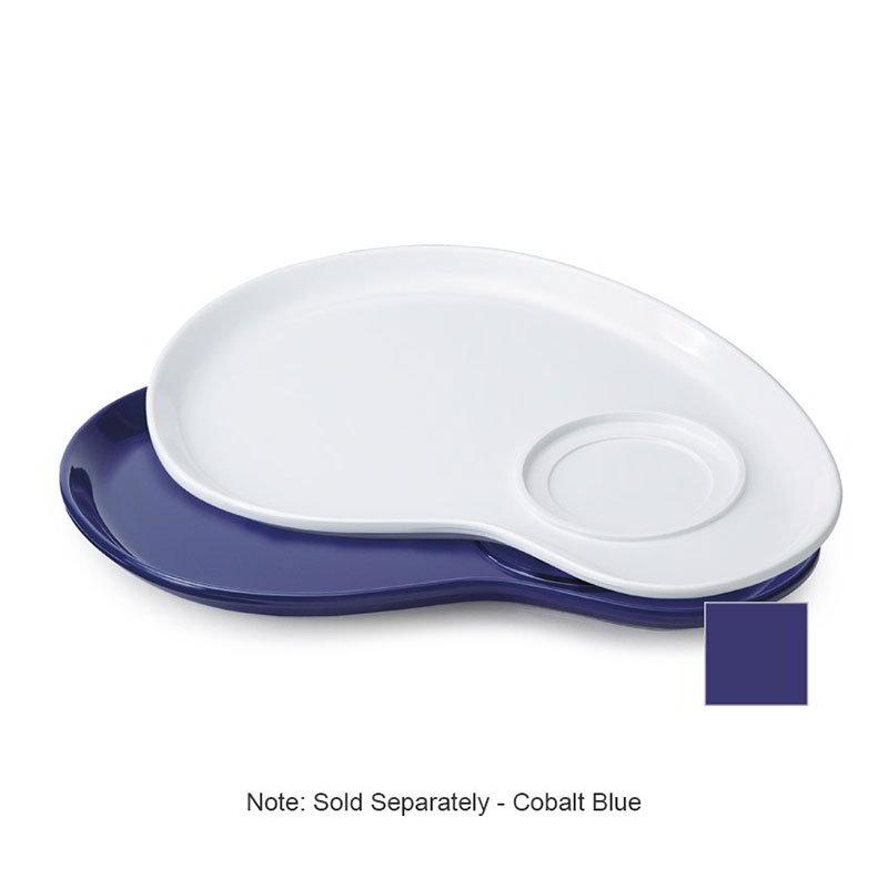 "GET PP-976-CB 12""Palette Plate, Melamine, Cobalt Blue"