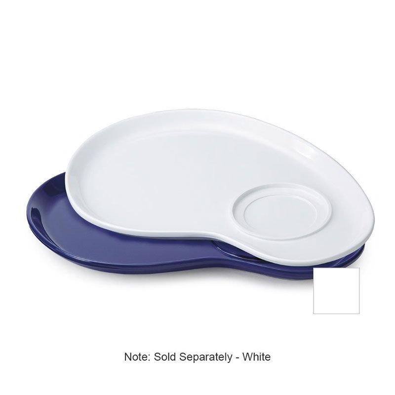 "GET PP-976-W Pallette Plastic Plate, 12""Diameter, White"