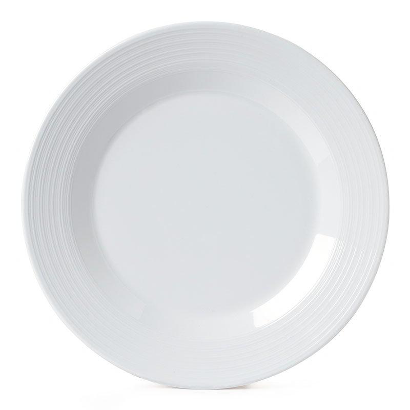 """GET PT-6-MN-W 6.5"""" Minski Dinner Plate - Melamine, White"""