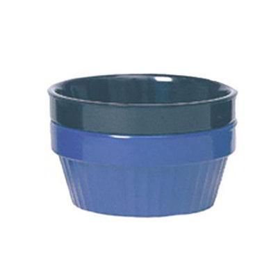 GET R-4-CB 4oz Ramekin, Stackable, Melamine, Cobalt Blue