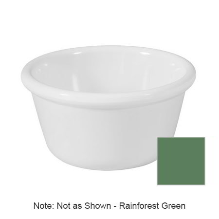 GET RM-388-FG 3-oz Ramekin, Plain, Melamine, Rainforest Green