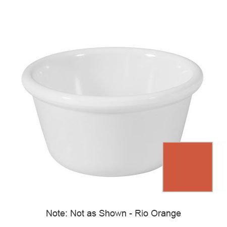 GET RM-388-RO 3-oz Ramekin, Plain, Melamine, Rio Orange