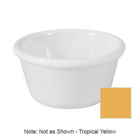 GET RM-388-TY 3-oz Ramekin, Plain, Melamine, Tropical Yellow