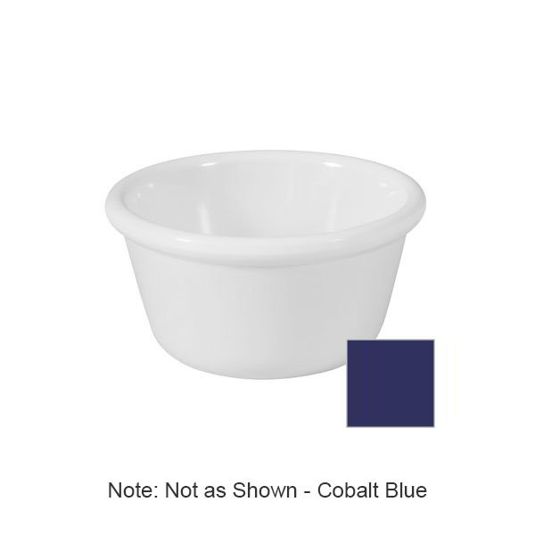 GET RM-400-CB 4oz Ramekin, Plain Cone-Shaped, Melamine, Cobalt Blue